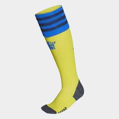 Manchester United 21/22 Tredje sokker Gul