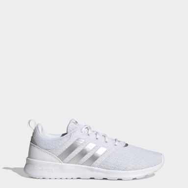 Women Walking White QT Racer 2.0 Shoes