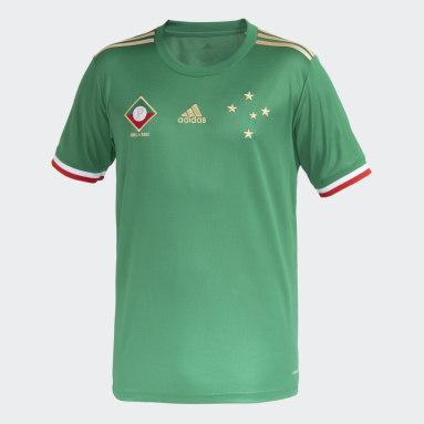 Camisa 3 Cruzeiro 21/22 Masculina Verde Homem Futebol