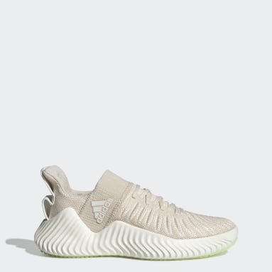 Tenis Alphabounce EX Trainer Beige Mujer Training