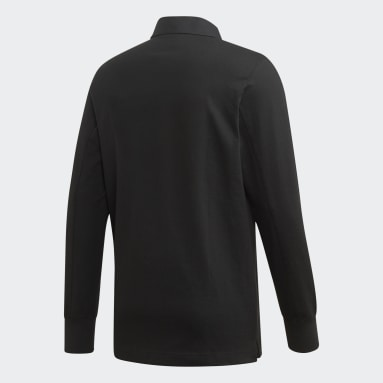Men Originals Black Galllery Rugby Shirt