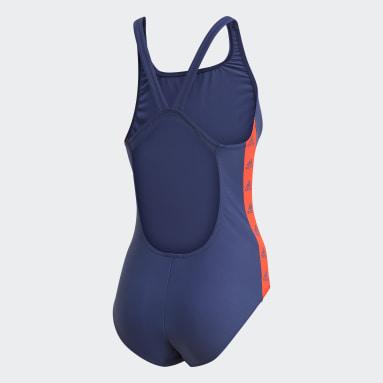 Traje de Natación adidas SH3.RO Tapered Azul Mujer Natación