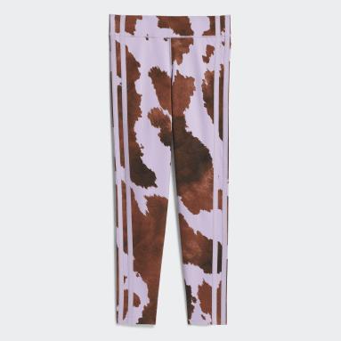 Mallas Cow-Print Corte Alto Multicolor Niña Originals