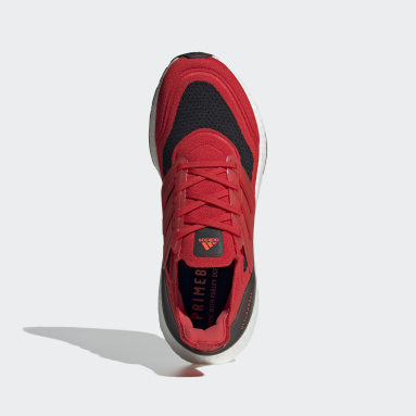 Chaussure Ultraboost 21 rouge Course