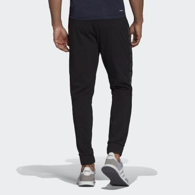 Muži Cvičení A Trénink černá Kalhoty AEROREADY Designed To Move Sport Motion Logo