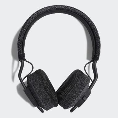 Hiking Black RPT-01 Sport On-Ear Headphones