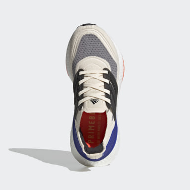 Chaussure de running Ultraboost 21 Primeblue Boost blanc Adolescents Course