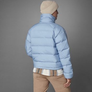Women's Hiking Blue Helionic Relaxed Fit Down Jacket