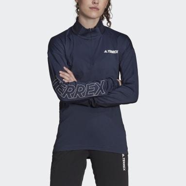 Kvinder TERREX Blå Terrex Xperior trøje