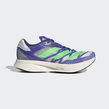 Running Blue Adizero Adios Pro 2.0 Shoes