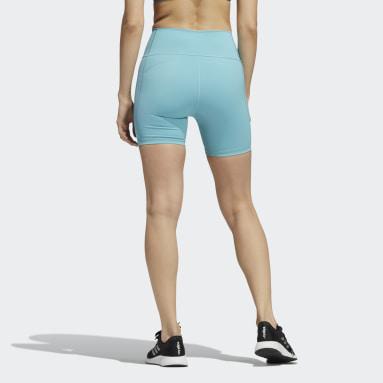 Dames HIIT Groen Believe This 2.0 Korte Legging