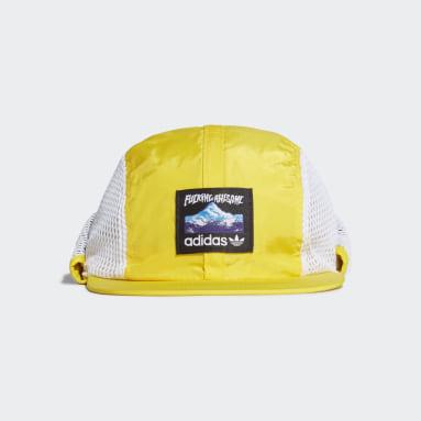 Originals Yellow FA Fishing Cap