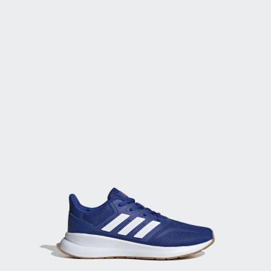 Kids Running Blue Runfalcon Shoes