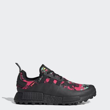 Men Originals Black NMD_R1 Trail GORE-TEX Shoes