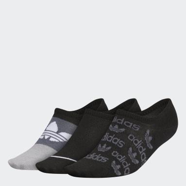 Women's Originals Black Graphic Super-No-Show Socks 3 Pairs