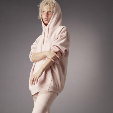Dames Sportswear Roze Hyperglam Oversized Hoodie
