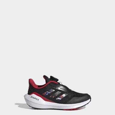 Kids Running Black EQ21 Run Boa CNY Shoes