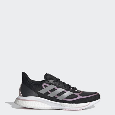 Women Running Black Supernova+ Shoes