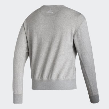 Sweat-shirt Canadiens Vintage Crew gris Hommes Hockey