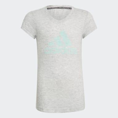 T-shirt Must Haves Bianco Ragazza Fitness & Training
