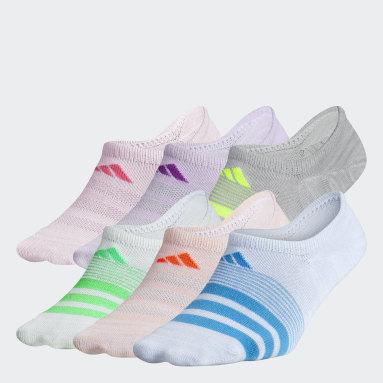 Children Training Multicolor Superlite Super-No-Show Socks 6 Pairs