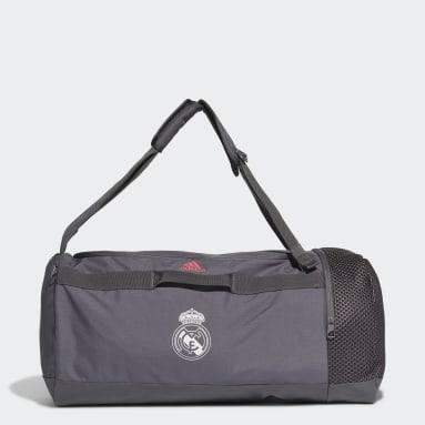 Football Grey Real Madrid Duffel Bag M