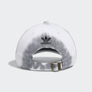 Men's Originals Grey Relaxed Colorwash Strap-Back Hat