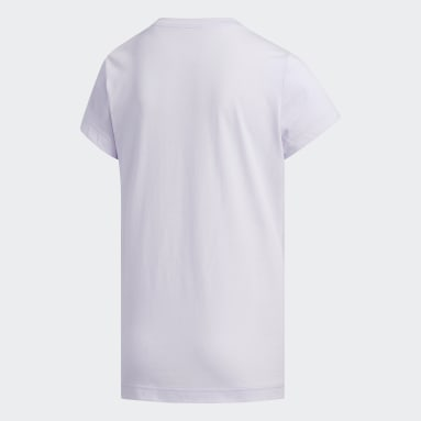 Youth Essentials Purple Camouflage Tee