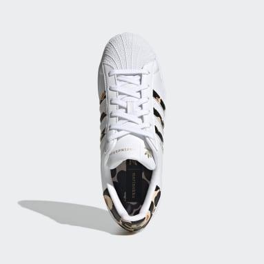 Kadın Originals Beyaz Marimekko Superstar Ayakkabı