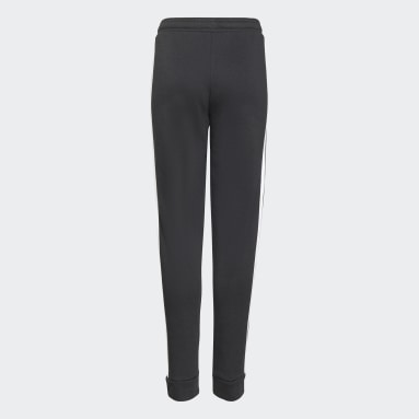 Girls Sportswear Black adidas Essentials 3-Stripes French Terry Joggers