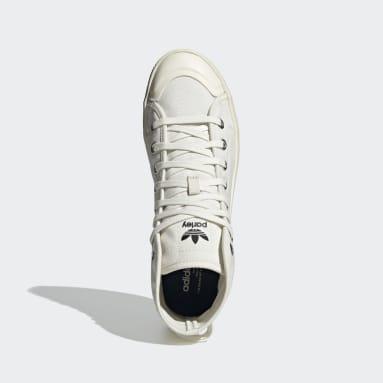Chaussure Nizza Parley blanc Originals