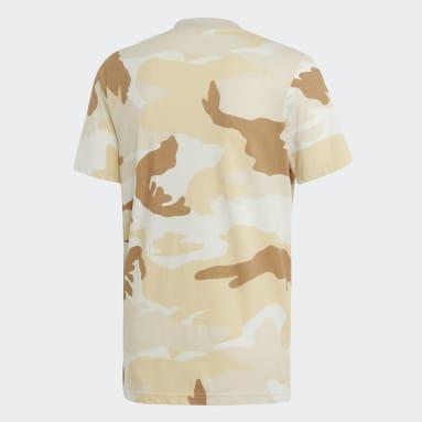 Playera Camouflage Trifolio Multicolor Hombre Originals