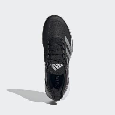 черный Кроссовки для тенниса Adizero Ubersonic 4 Clay