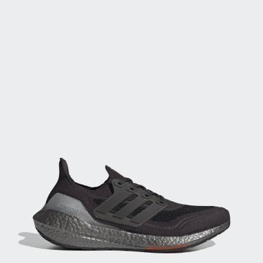 Men Running Grey Ultraboost 21 Shoes