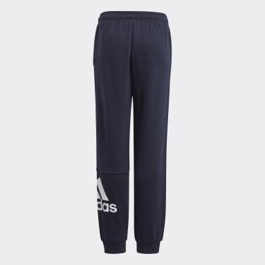 Pantalón Essentials French Terry Azul Niño Sportswear
