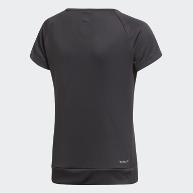 T-shirt Training Gear Up Nero Ragazza Fitness & Training