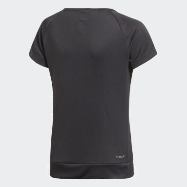 Youth 8-16 Years Gym & Training Black Training Gear Up T-Shirt