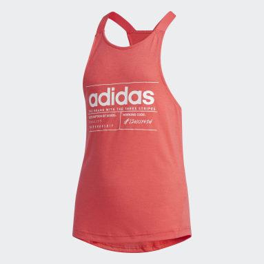 Girls Gym & Training Pink Brilliant Basics Tank Top