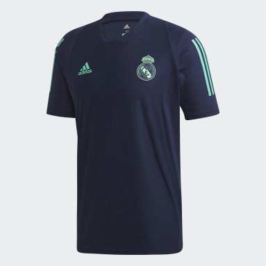 Men Football Blue Real Madrid Ultimate Training Jersey