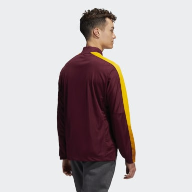 Men's Training Multi Sun Devils Long Sleeve Quarter-Zip Knit Sweatshirt