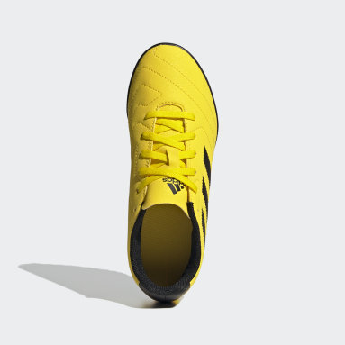 Calzado de Fútbol Goletto VII Pasto Sintético Amarillo Niño Fútbol