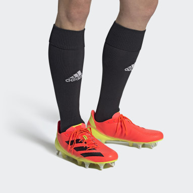 Rugby Orange Rugby Adizero RS7 SG Boots