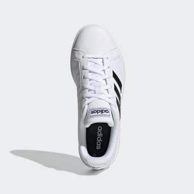 Tenis Grand Court Base Blanco Mujer Diseño Deportivo