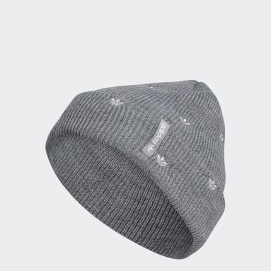 Women's Originals Grey Embroidery Beanie