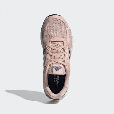 Chaussure Response Run Rose Femmes Running
