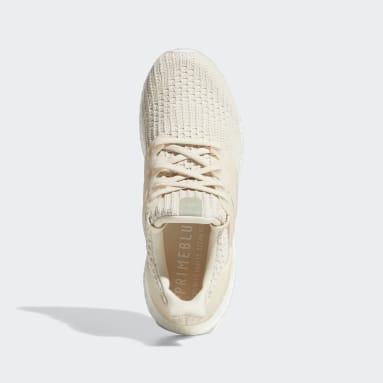Women Running Beige Ultraboost 4.0 DNA Shoes