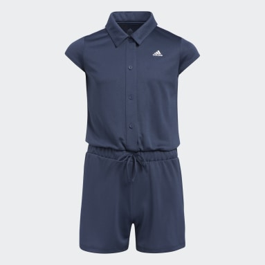 Youth Golf Blue Romper