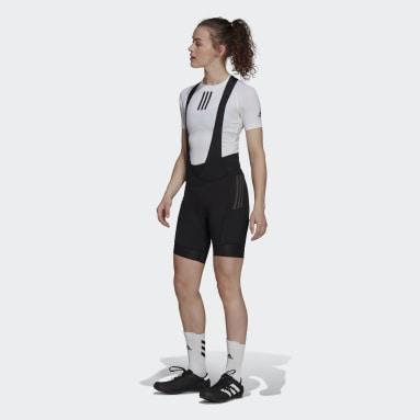 Women Cycling Black The Padded Adiventure Cycling Bib Shorts