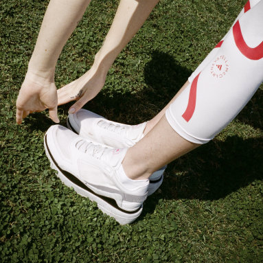 Women's adidas by Stella McCartney White adidas by Stella McCartney Earthlight Mesh Shoes