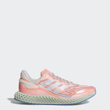 Men Running White adidas 4D Run 1.0 Shoes